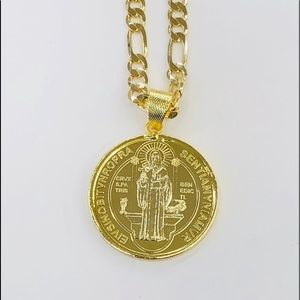 Other - San Benito Necklace Gold Plated.